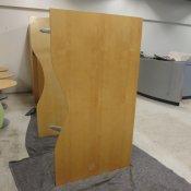 Hæve-/sænkebord - 165x90