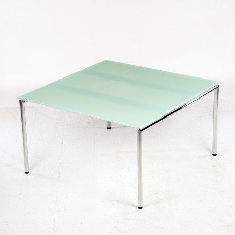 Four Design mødebord med glasplade