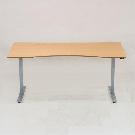 Restparti - hæve-/sænkebord med bøge bordplade