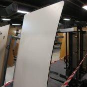 Hæve-/ sænkebord - Hvid - 200x90/100