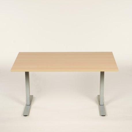 Hæve-/sænkebord - birk - 160x80 cm