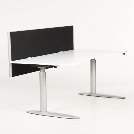 Skillevæg - bordmodel - sort - 180