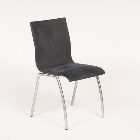 Kvist møbler - konferencestol - grå alcantara