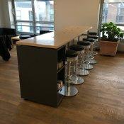 Højbord med barstole - dinner sæt til 14 pers.