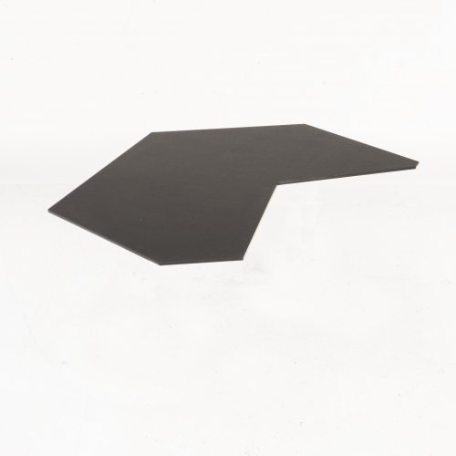 Air bordplade - Nero - sort lak på kant - 27 mm MDF