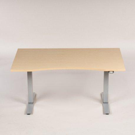 EFG hæve-/ sænkebord - 140x90 cm - birk