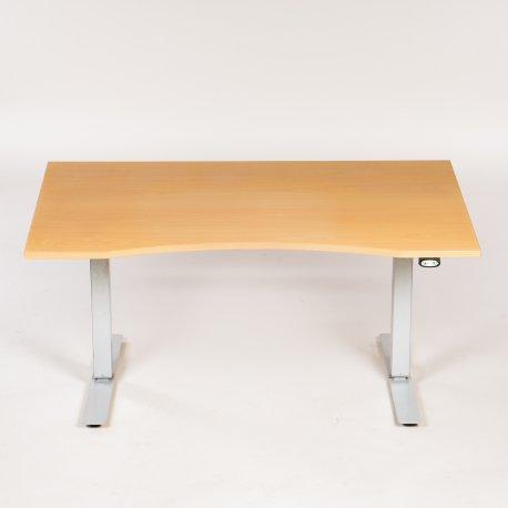 EFG? - Hæve-/sænkebord - bøg - 140x90 cm
