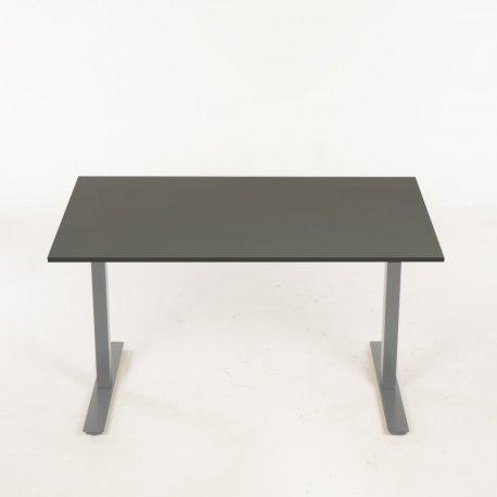 Hæve-/sænkebord - antracit - 140x80 cm