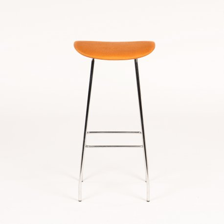 Offecct barstol orange polstring model Cornflake jkOffice Aps