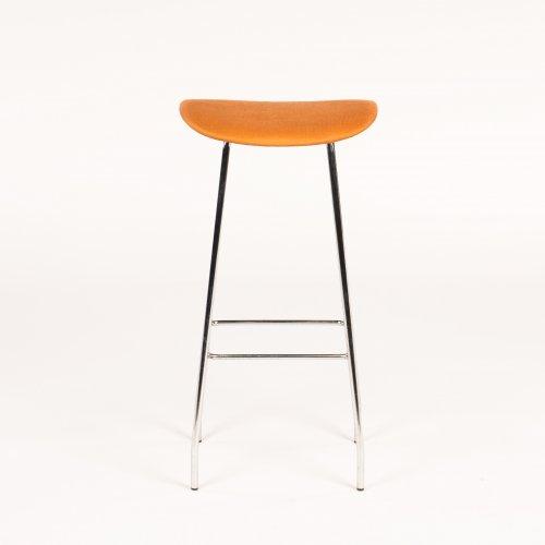 Offecct barstol - orange polstring - model Cornflake