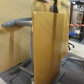EFG hæve-/ sænkebord - bøg - 120x80 cm.