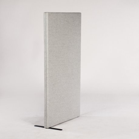 Abstracta skillevæg - lysgrå uld - 135x80 cm.