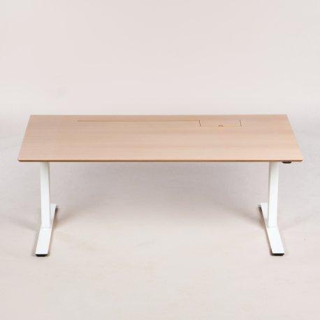 Hass/Berg - hæve-/sænkebord - 160x80 cm.
