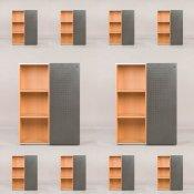 10 skabe fra Randers møbler - 114x82x44 cm