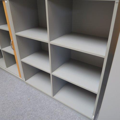 Cube - reol - lysgrå - seks rum