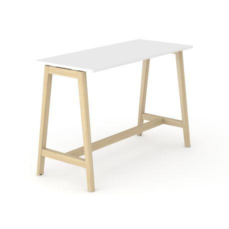 Una wood højbord