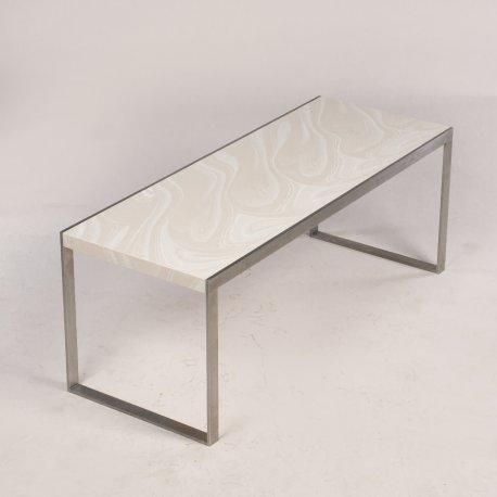 Sofabord - marmoreret corian