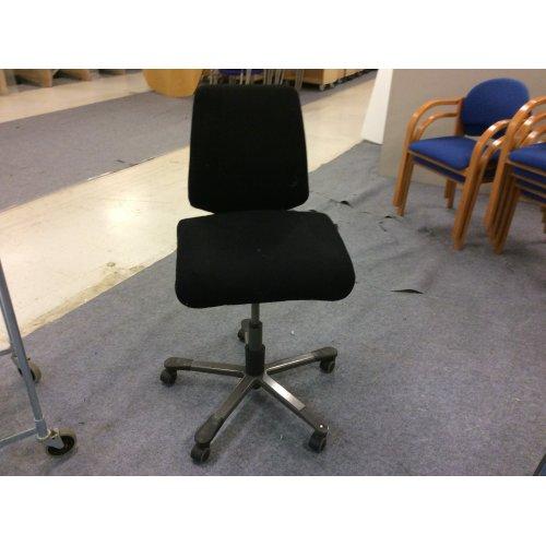 Håg kontorstol - sort polstring