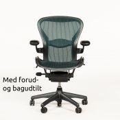 Herman Miller Aeron Chair - Graphite/Jade - Model B