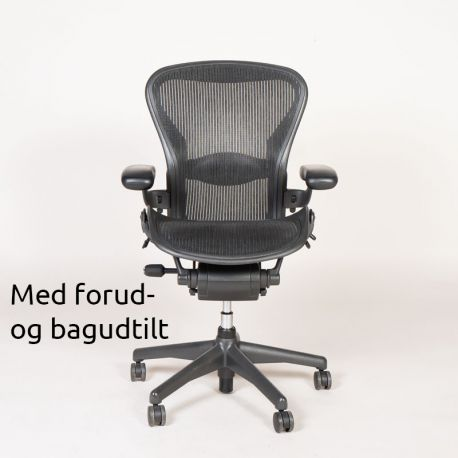 Herman Miller Aeron Chair - Graphite/Black - Model B