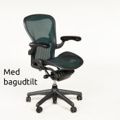 Herman Miller Aeron - Graphite/Jade - Model B
