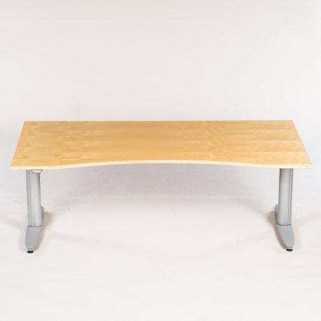 Kinnarps - ahorn - bred centerbue - 180x90 cm