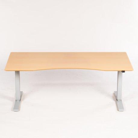 Scan Office hæve-/sænkebord - bøg - 180x90 cm
