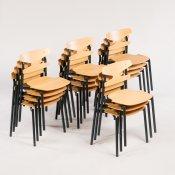 15 x mellemstor skolestol