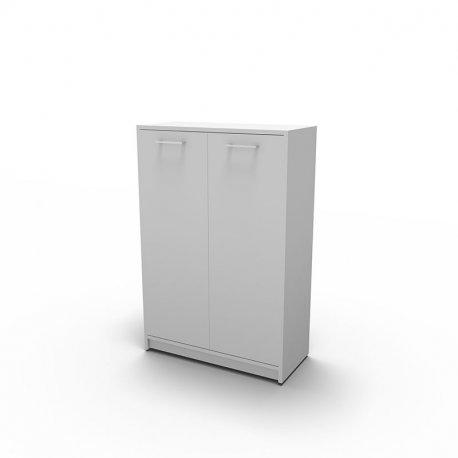 Jive skab - Hvid decor laminat - 3rh - integreret sokkel - lås - (FM 2-303-10+1073L)