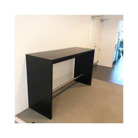 Højt bord - sort - rektangulært