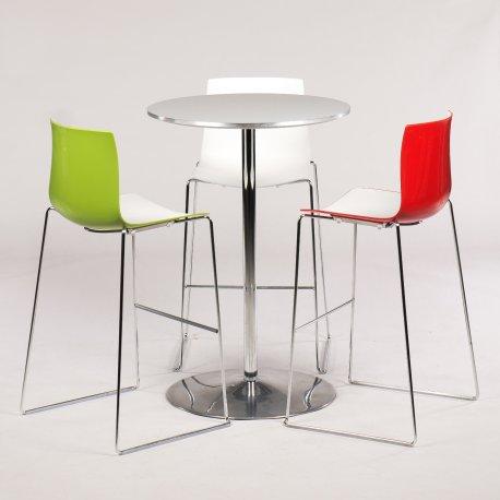 Cafesæt m. Fritz Hansen bord og Arper Catifa barstole