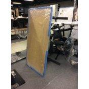 Hæve-/sænkebord - ahorn - 160x80