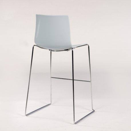 Arper Catifa 46 stool - barstol - lysegrå