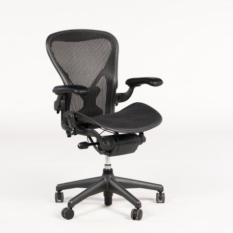 Herman Miller Aeron - Model B - Sort