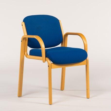 Konferencestol - blå