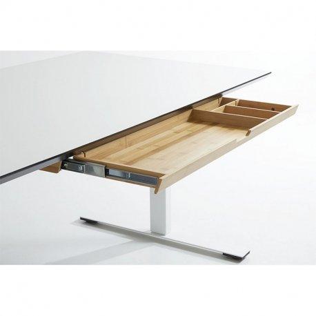 Bambus rekvisitskuffe - 58,5 cm. - natur