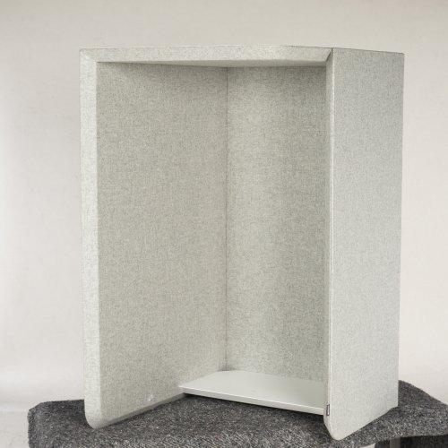 Abstracta vægbås - Venstrevendt - Camira Silverdale CUZ28 - Grå