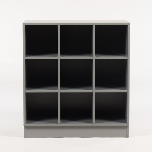 Cube reol - 6 rum - Antracitgrå