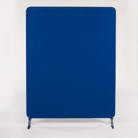 Blå skillevæg - 150x116 cm