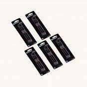 NAGA pakke - sort kridtmarker - 2mm (5 pakker)