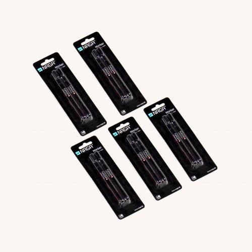 NAGA pakke - sort kridtmarker - 2mm