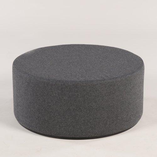 Giro puf - sort melange - sort base - Ø80 - H35 (NAR SRA103-S17)
