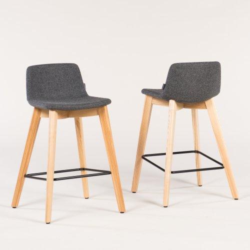 Tango barstol - træstel