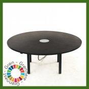 Cirkulært hæve/sænke konferencebord - Ø 180 cm.