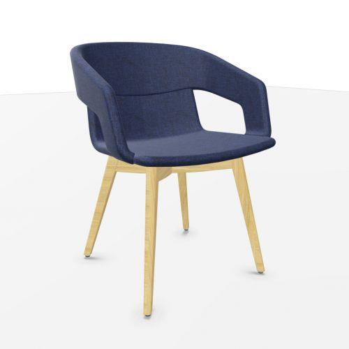 Tango loungestol med træben