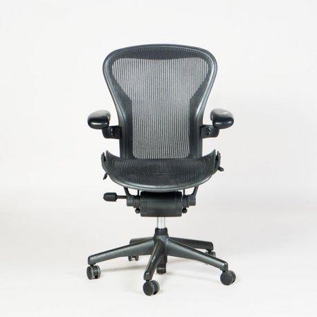 Herman Miller Aeron Chair - Model B - Sort