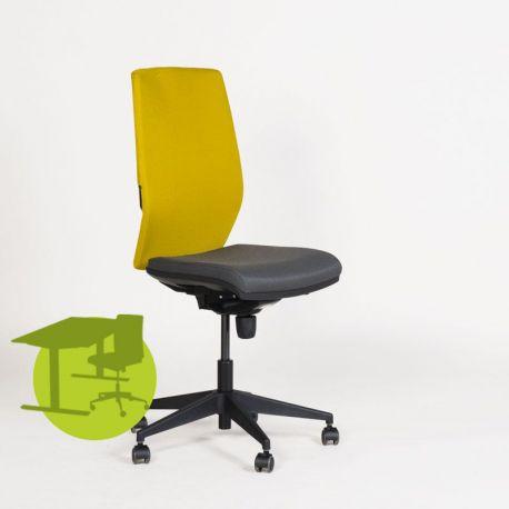 Tagia Manager kontorstol - Gul og grå