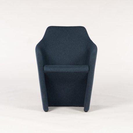 Venus stol fra Allermuir - blå meleret