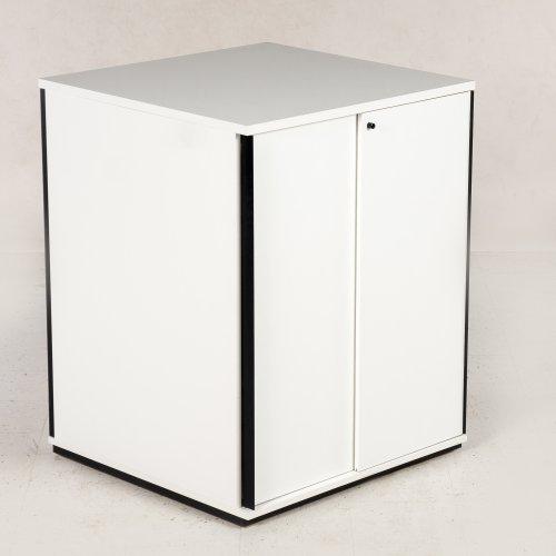 Ragners reol - 114x90x90 - hvid