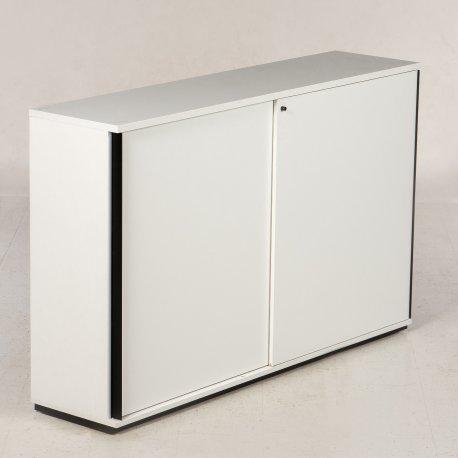 Ragnars reol - 114x180x45 - hvid